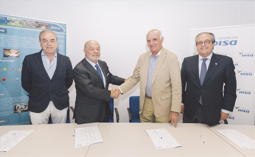 La Fundación DISA y la Fundación Ágora han firmado un convenio de colaboración para la puesta en marcha y desarrollo del proyecto Videoanálisis como tecnología docente en la Plataforma de Formación Sanitaria
